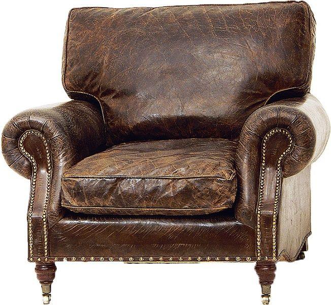 Balmoral Fåtölj Läder - Artwood