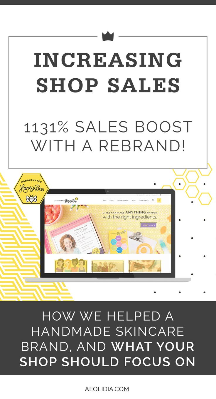 How we increased the Shopify conversion rate for a handmade shop nearly 2.5 times! And some information on what your shop should focus on.
