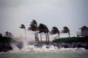 Hurricane in the gulf