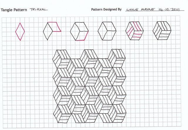 6612 best Zentangle Patterns images on Pinterest