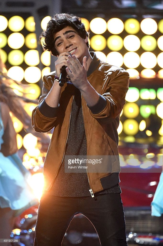 Jos Canela of CD9 performs onstage during Telemundo's Latin American Music Awards at the Dolby Theatre on October 8, 2015 in Hollywood, California.
