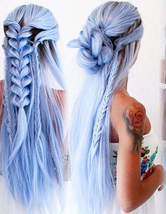 Explore the best ideas of long braided hairstyles and haircuts to wear in 2018. Here you may see the most stunning braiding styles for long and medium hair. Moreover, you may also visit for so much various hair colors and hair lengths ideas to show off in 2018.
