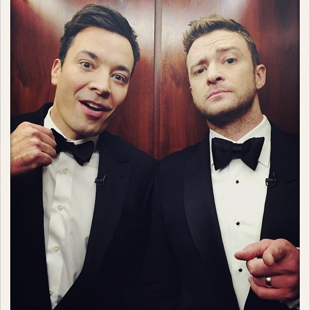 jimmy & justin at SNL40