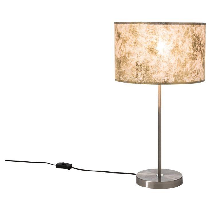Tischleuchte Shadow, edel, Metall/Kunststoff, Höhe ca. 54 cm