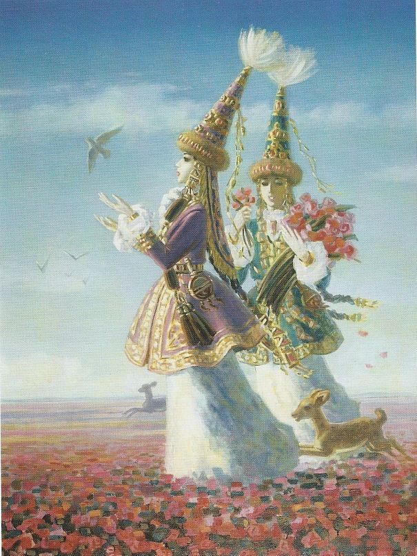 """А.Дузельханов """"Весна"""""""