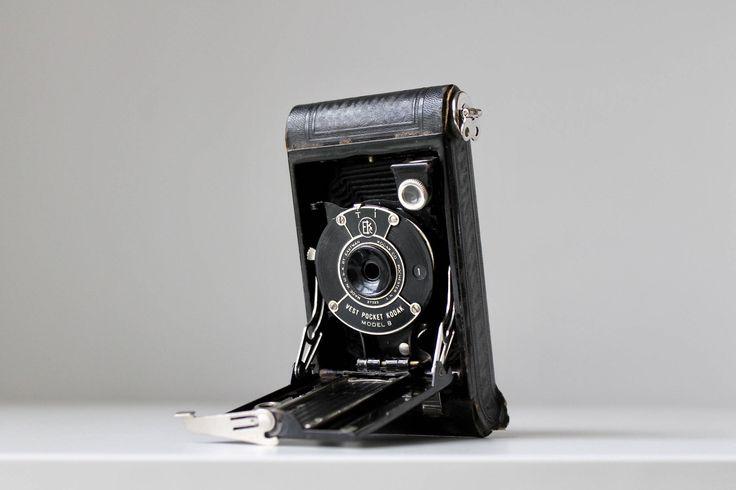 1926 Eastman Kodak Vest Pocket Camera with original packaging