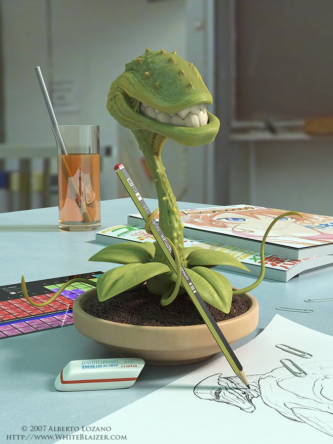 Don't feed the plant Blaizer