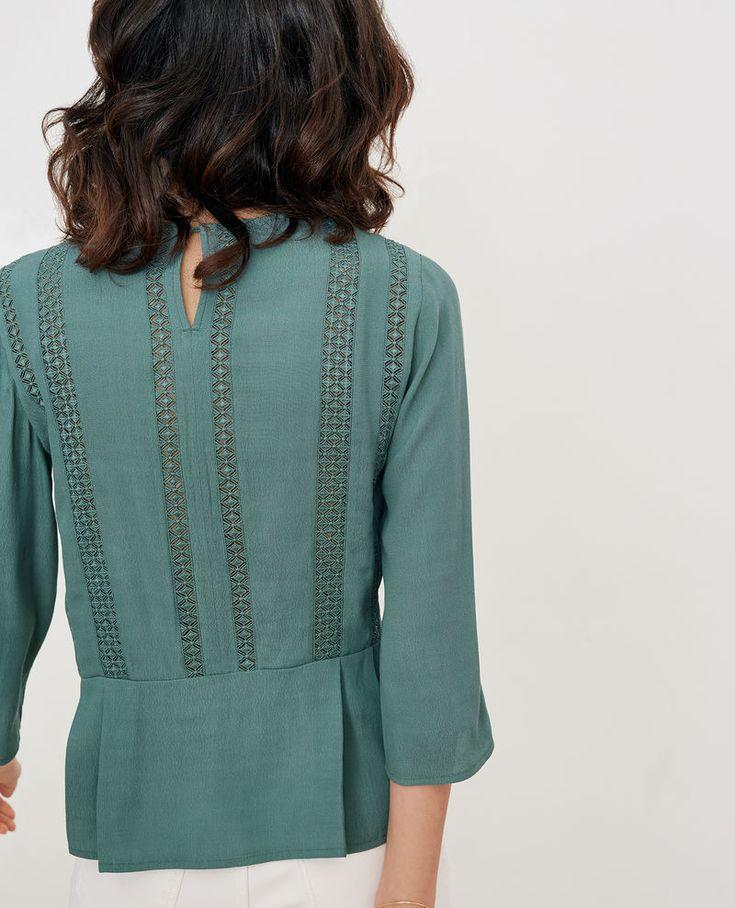 Chemisier femme blouse tunique chemise comptoir des cotonniers wish list blouse - Tunique comptoir des cotonniers ...