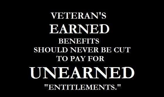 US Veterans lose benefits to illegal alien welfare
