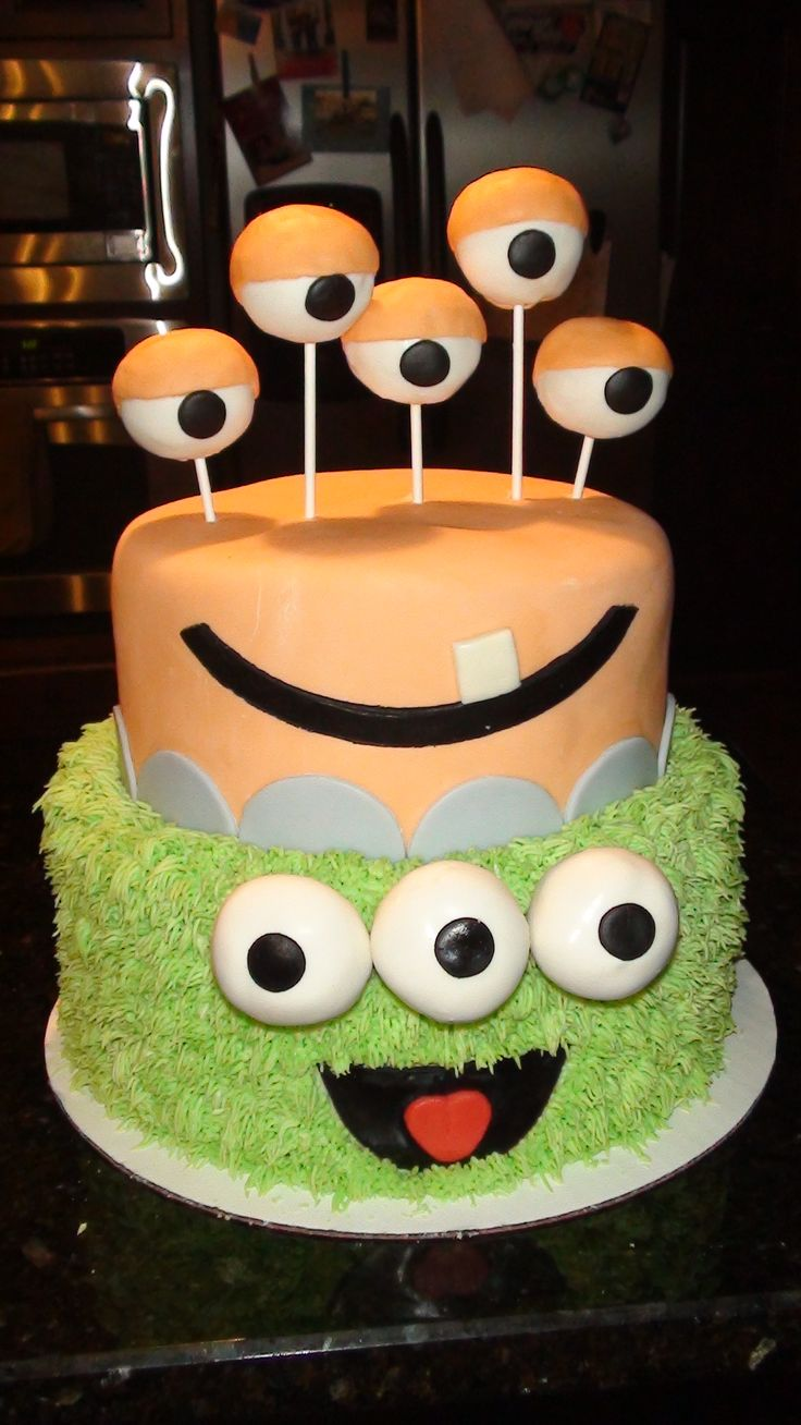 9 Best Alien Birthday Party Images On Pinterest Anniversary Cakes