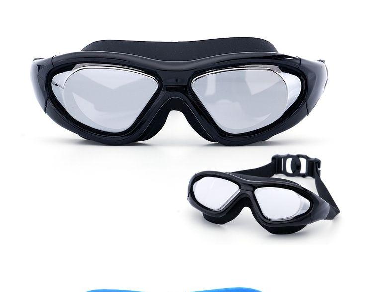 Super grand lunettes De Natation myopie Adulte silicon Piscine lunettes optique anti brouillard d'eau réglable lunettes de natation lunettes dans De natation Lunettes de Sports & Entertainment sur AliExpress.com | Alibaba Group