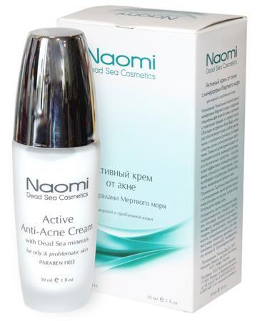 Naomi Активный против акне 30 мл — 1615р. --------------------- Активный крем Naomi против акне разработан для жирной кожи, склонной к появлению прыщей и угревой сыпи. Экстракт алоэ вера и ромашки оказывают противовоспалительное и успокаивающее действие. В состав крема Наоми против акне входит салициловая кислота, кот...