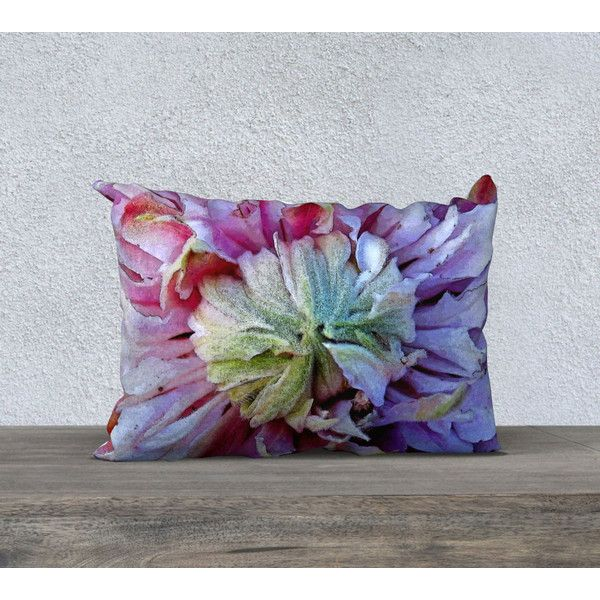Purple Pillow Cover, Square Oblong Retangular Lumbar, Velveteen or... (€26) ❤ liked on Polyvore featuring home, home decor, throw pillows, purple toss pillows, purple pillow shams, floral accent pillows, purple shams and canvas throw pillows