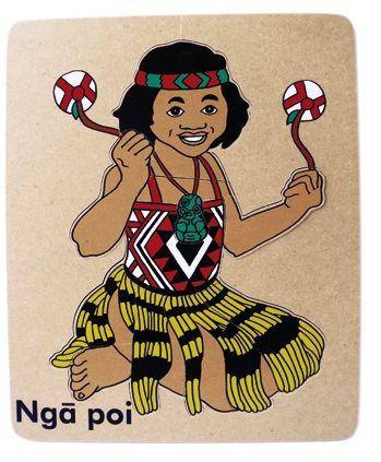 Nga Poi: Puzzle - Te Reo Maori