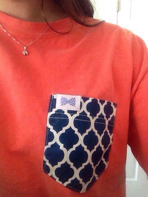 Fraternity Collection - Natalie pocket on early autumn long sleeves - size medium. GO BRONCOS!!!