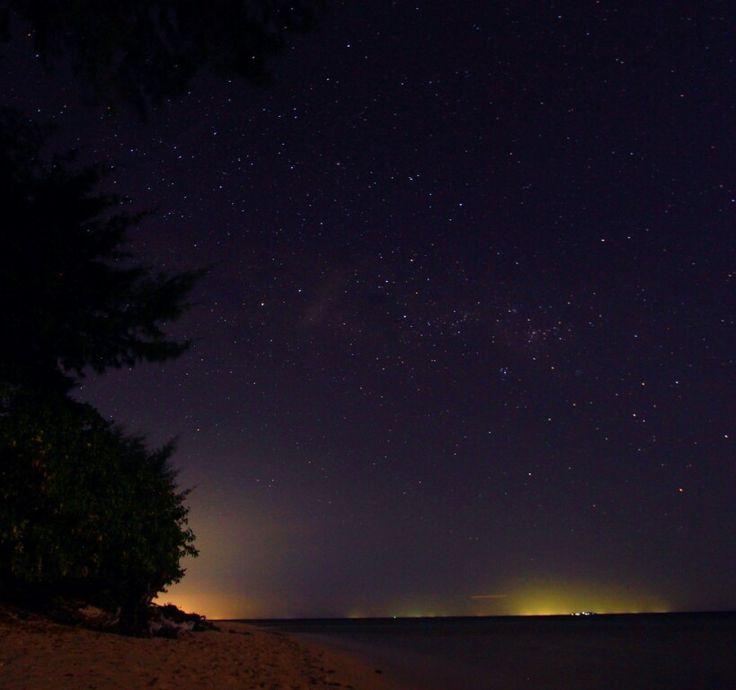 Night at cangke' island, sulawesi selatan