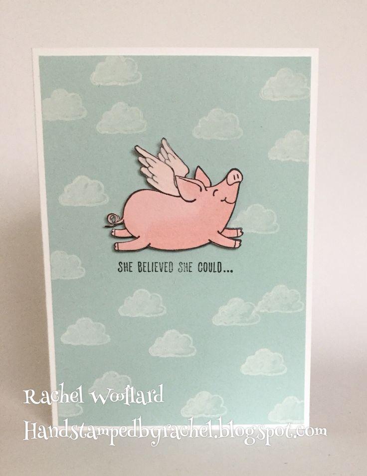 this Little Piggy Stampin Up 2017-2018 catalogue pig