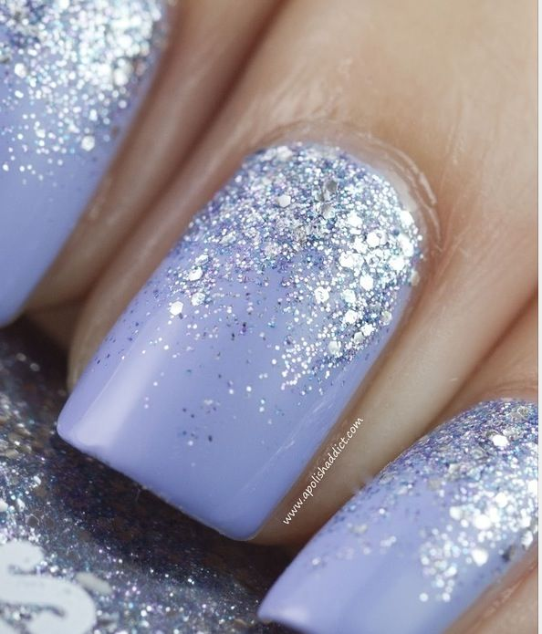 glitter gradients are so beautiful..i can never get it right