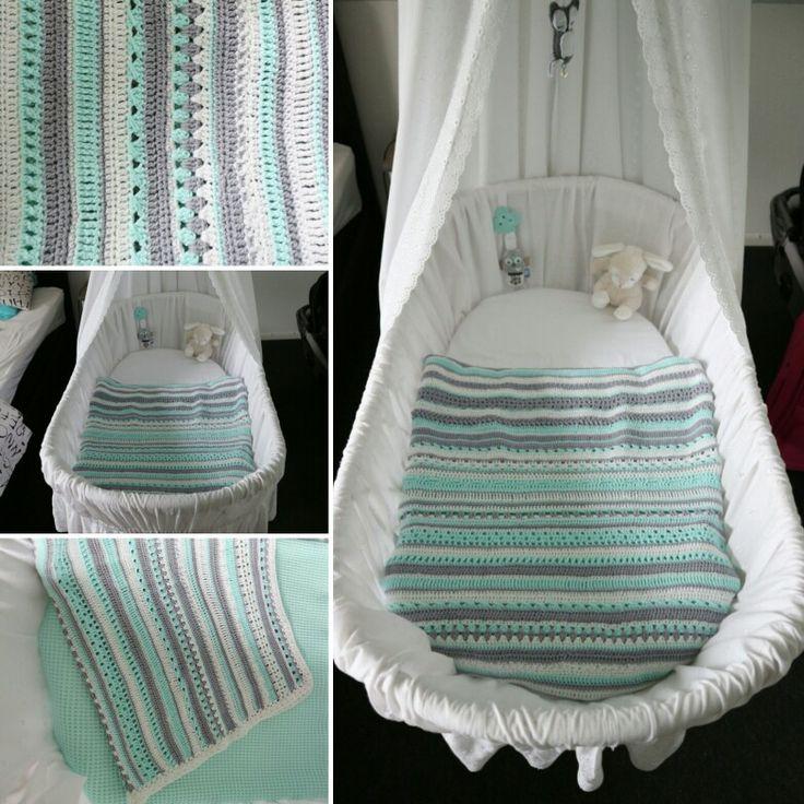 Mijn gehaakte deken ❤