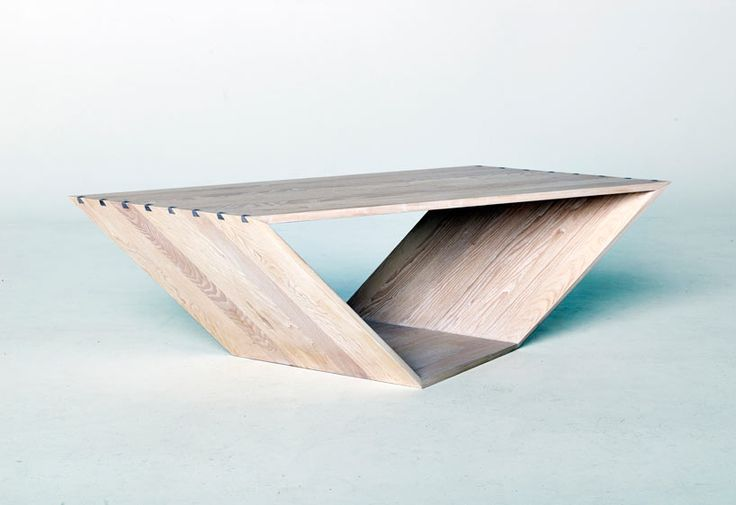 Swedish furniture and product designer Ola Giertz's latest project is called Bordus, a coffee table with some seriously aerodynamic lines. Inspired by angular Stealth fighter jets, the complex angles give the table a twisted look.