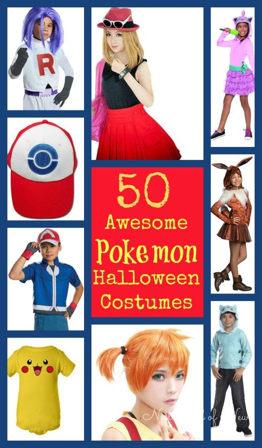50 Awesome Pokemon Halloween Costumes