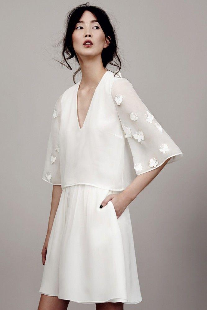 Robe de mariée courte Berlin, Kaviar Gauche l La Fiancée du Panda blog Mariage et Lifestyle #kaviargauche #papillon #bridal