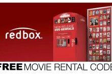 FREE MOVIE RENTAL CODE REDBOX
