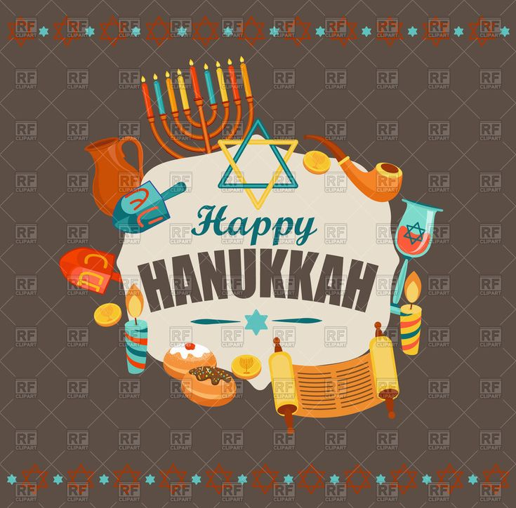 Vector image of Happy Hanukkah typography card template #160976 includes #graphic collections of #hanukkah and #Holiday. You can download this image #clipart in EPS and JPG format.