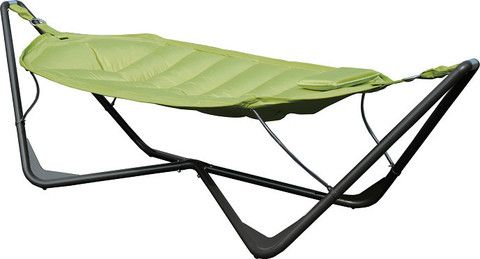 Hammock Quilted; Steel Stand - Double
