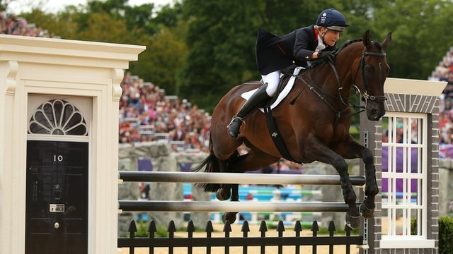 Olympics eventing: Britain win team silver behind Germany