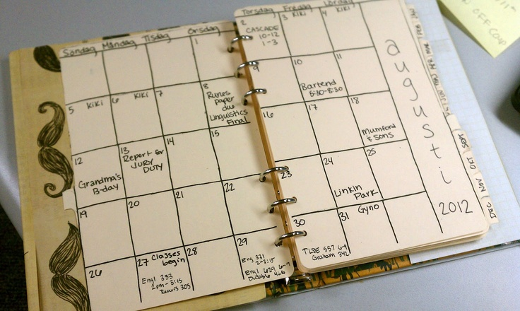 17 Best Images About Diy Planners Ideas On Pinterest