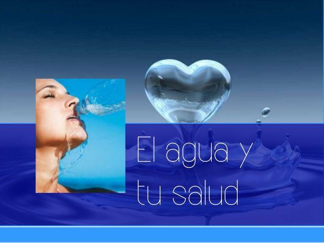 """Power point: """"El Agua y Tu salud"""" by ADGUER Diseño Multimedia via slideshare  #multimedia #design #diseño #diseñadorgráfico"""