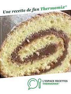 GATEAU ROULE ULTRA RAPIDE par Biscatine. Une recette de fan à retrouver dans la catégorie Desserts & Confiseries sur www.espace-recettes.fr, de Thermomix®.
