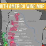 South America Wine Regions Map