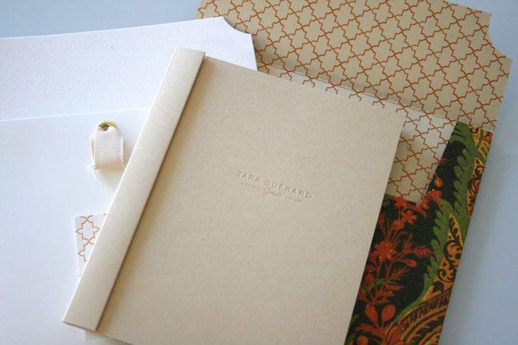 Beautiful Book Binding & Use of Pattern