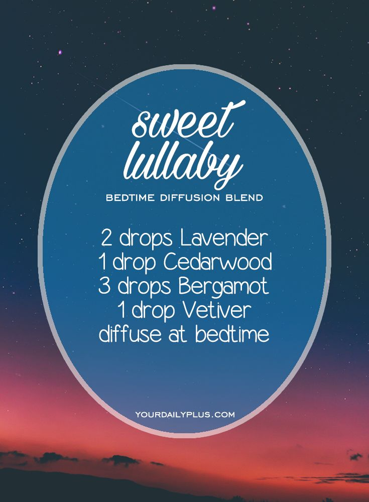Having trouble sleeping? Try these essential oils for deep sleep that promote relaxation and a restful sleeping environment. Sweet Lullaby diffusion blend with Lavender, Cedarwood, Bergamot and Vetiver.