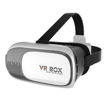 """Buy VR BOX 2.0 3D Virtual Reality Glasses Movies Games for 3.5"""" - 6.0"""" Smart Phone (White) online at Lazada. Discount prices and promotional sale on all. Free Shipping."""