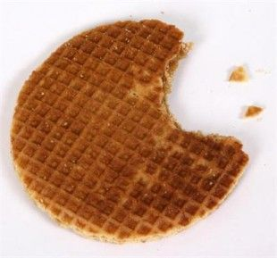 I miss these... Stroop Waffels - Sugar-filled Dutch waffle cookies - I want one now!!