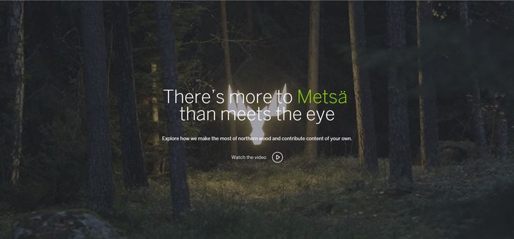 BEAUTIFUL STORY OF FINNISH TREES. Metsä Group – There's more to Metsä than meets the eye