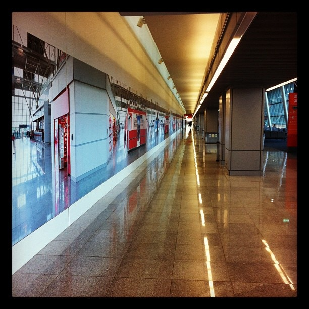 Found on Starpin. #Warsaw #airport #chopinairport #poland