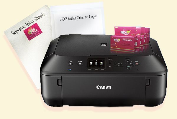$199.99Canon Edible Printer Kit CC7 LT all-in-one Wireless with scanner for cakes cupcakes and cookies