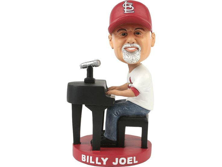 Calling all Uptown Girls and Piano Men! In anticipation of the upcoming September concert, don't miss Billy Joel Night at the ballpark on Wednesday, August 9th when the Cardinals host the Royals. With the purchase of a special Theme Ticket, fans will receive a one-of-a-kind Billy Joel bobblehead, featuring Billy at the piano sporting Cardinals gear!. And come early... Spanky's Dueling Pianos will be playing some of Billy's greatest hits in Riverview Corner prior to the game!