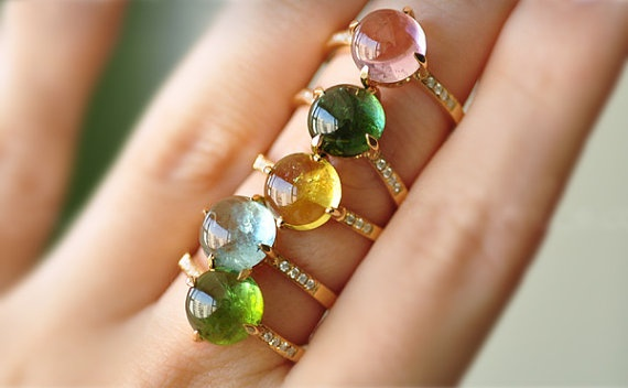 Lovely #etsy #jewelry #ring #gold #jewel