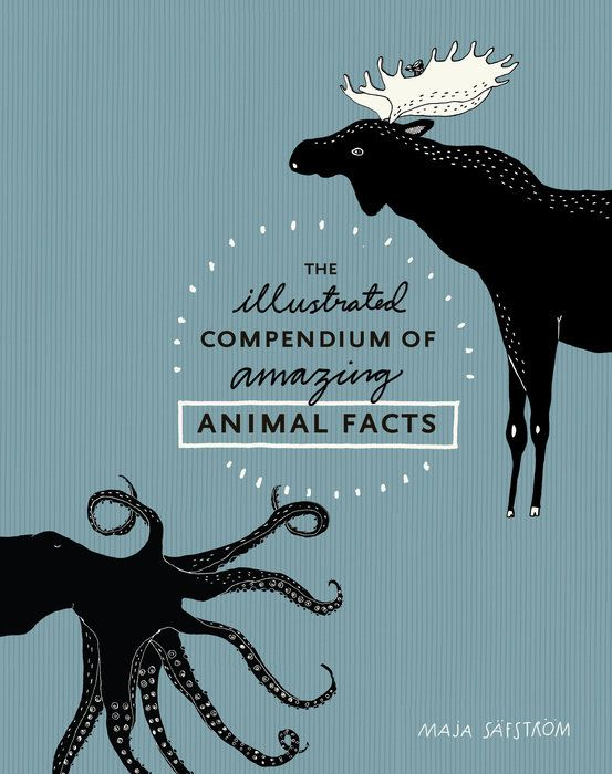 An artfully playful collection of unexpected and remarkable facts about animals, illustrated by Swedish artist Maja Säfström. Did you know that an octopus has three hearts? Or that ostriches can't walk backward? These and many more fascinating and surprising facts about the animal kingdom (Bees never sleep! Starfish don't have brains!) are illustrated with whimsical detail in this charming collection.