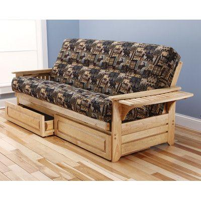 Phoenix Peter's Cabin Futon and Mattress - http://delanico.com/futons/phoenix-peters-cabin-futon-and-mattress-589724404/