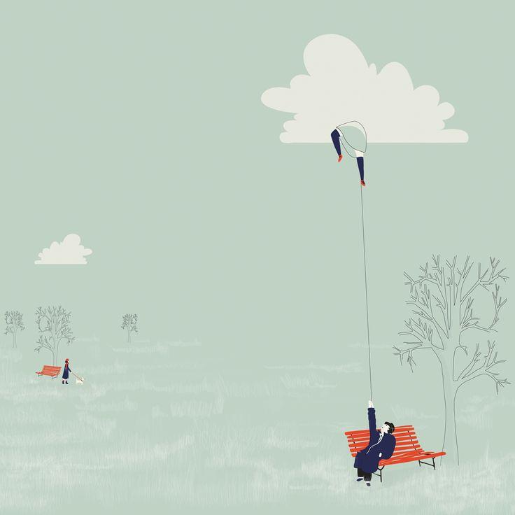 ilustracion para re-edición 20 poemas de amor y una canción desesperada. fundación Pablo Neruda