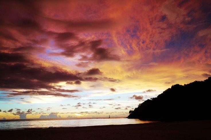 Sunset at Rasa Ria