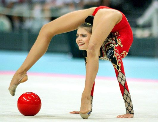 Giving flexibility a new name! | Famous gymnasts ...