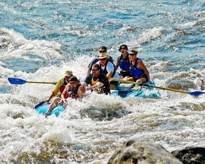 Salmon River White Water Rafting 78