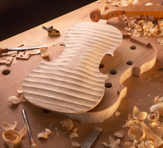 Luthier Stringed-instrument maker #violin #violon